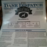Photo taken at Great Dane Pub & Brewing Co by Chris K. on 5/31/2013