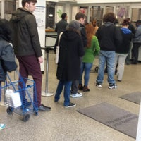 Photo taken at USPS Post Office - Hell Gate Station by Daniel R. on 4/18/2014