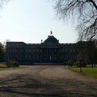Photo taken at Koninklijk Paleis / Palais Royal by Xavier J. on 5/1/2013