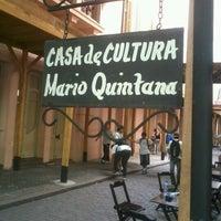 Photo taken at Casa de Cultura Mario Quintana by Hohana B. on 11/6/2012
