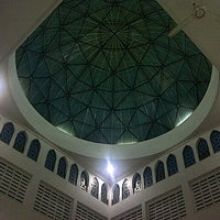Photo taken at Masjid Baiturrahim by Cingah M. on 10/31/2012