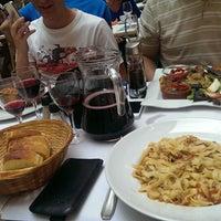 Photo taken at Restaurant du Gesù by Adam D. on 6/27/2013