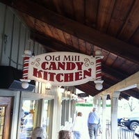 Photo taken at Old Mill Candy Kitchen by Ray B. on 4/20/2015