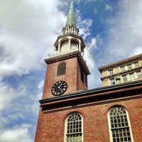 Photo taken at Old South Meeting House by Brian W. on 4/13/2013