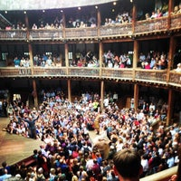 Photo taken at Shakespeare's Globe Theatre by Brent H. on 7/2/2014