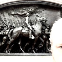 Photo taken at Robert Gould Shaw Memorial by Bob S. on 3/7/2016
