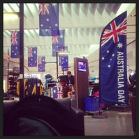 Photo taken at T1 International Terminal by Jeremy E. on 1/27/2013