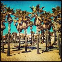 Photo taken at Huntington Beach Bike Trail & Boardwalk by Michael F. on 3/11/2013