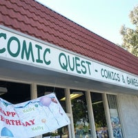 Photo taken at Comic Quest by Tim V. on 10/24/2012