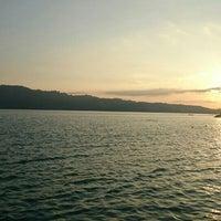 Photo taken at Pantai Natsepa by Kevin S. on 12/3/2015