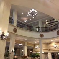 Photo taken at King Edward Hotel (Hilton Garden Inn Jackson) by joy p. on 4/9/2013