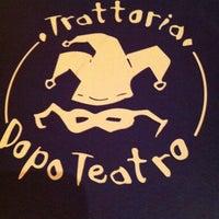 Photo taken at Trattoria Dopo Teatro by Kimy Stewart B. on 2/5/2013