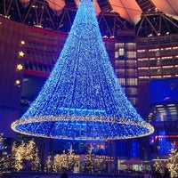 Photo taken at Potsdamer Platz by Amir H. on 12/27/2012