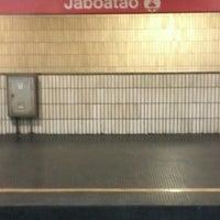 Photo taken at Estação Jaboatão (CBTU/Metrorec) by Gilvan R. on 11/3/2013