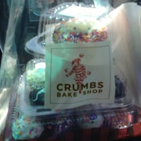 Photo taken at Crumbs Bake Shop by Gina S. on 4/19/2014