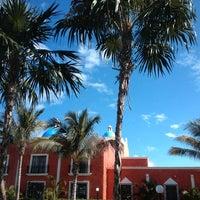 Photo taken at Gran Bahia Principe Tulum by Gcmep G. on 10/22/2013