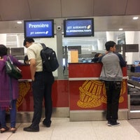 Photo taken at Jet Airways Checkin by Tim on 10/17/2012