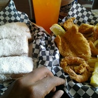 Photo taken at Queen's Louisiana Po-Boy Cafe by Jacquinn S. on 8/23/2012