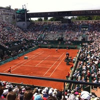 Photo taken at Court Suzanne Lenglen by Aude H. on 6/2/2012