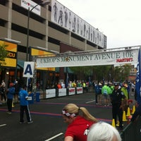 Photo taken at Monument Ave 10k 2012 by JJ W. on 5/28/2012
