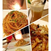 Photo taken at Aria Cucina Italiana by Rian C. on 8/10/2012