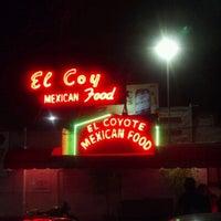 Photo taken at El Coyote by Trisha C. on 9/7/2012
