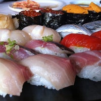 Photo taken at Kisaku Sushi by Jamie Y. on 7/31/2012