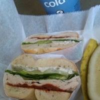 Photo taken at Bruegger's Bagels by Bridget W. on 2/27/2012