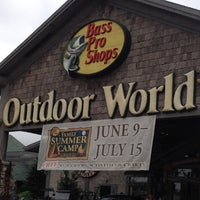 Photo taken at Bass Pro Shops by Tammy B. on 6/16/2012