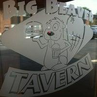 Photo taken at Big Beaver Tavern by Ashley B. on 5/21/2012