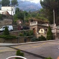 Photo taken at Monistrol de Montserrat by Maite L. on 8/25/2012