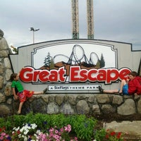 Photo taken at The Great Escape & Splashwater Kingdom by Marc-Antoine C. on 6/25/2012