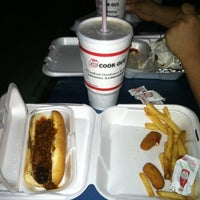 Photo taken at Cookout by Demonyae R. on 4/5/2012