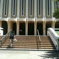 Photo taken at Langson Library (LLIB) by Amira A. on 7/10/2012