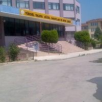 Photo taken at Yüksel Yalova Güzel Sanatlar Lisesi by Eylul S. on 8/3/2012