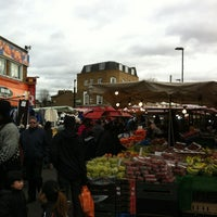 Photo taken at Ridley Road Market by Hung L. on 2/18/2012
