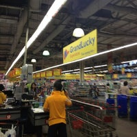Photo taken at Grand Lucky Superstore by ruben on 4/15/2012