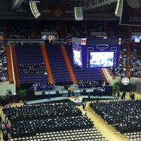 Photo taken at Littlejohn Coliseum by Prem V. on 5/11/2012