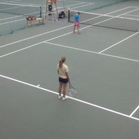 Photo taken at McCormack-Nagelsen Tennis Center by Mark Y. on 8/12/2012