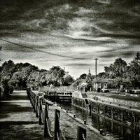 Photo taken at Sunbury lock by Shaun S. on 9/7/2012
