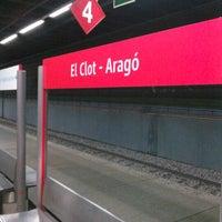 Photo taken at RENFE El Clot-Aragó by Hector s. on 12/8/2012