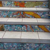 Photo taken at Hidden Garden Mosaic Steps by Donald F. on 7/29/2016