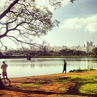 Photo taken at Parque Ibirapuera by Pedro K. on 7/27/2013
