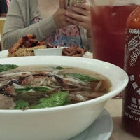 Photo taken at Phở Hòa by Candy Q. on 2/24/2015