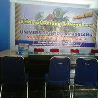 Photo taken at Universitas Tidar by nurul f. on 7/31/2013