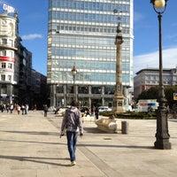 Photo taken at Obelisco by クリスティーナ on 11/19/2012