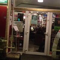 Photo taken at Goldmund Literaturcafe by Emoş A. on 12/1/2015