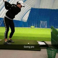 Photo taken at Braemar Golf Dome by Sam B. on 1/30/2016