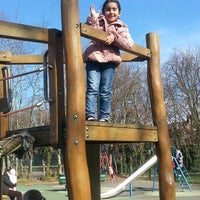 Photo taken at Hanwell Bunny Park by Esra P. on 3/7/2015