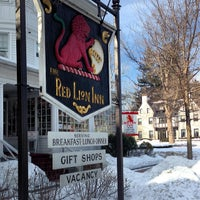 Photo taken at Red Lion Inn by Phil W. on 3/1/2014